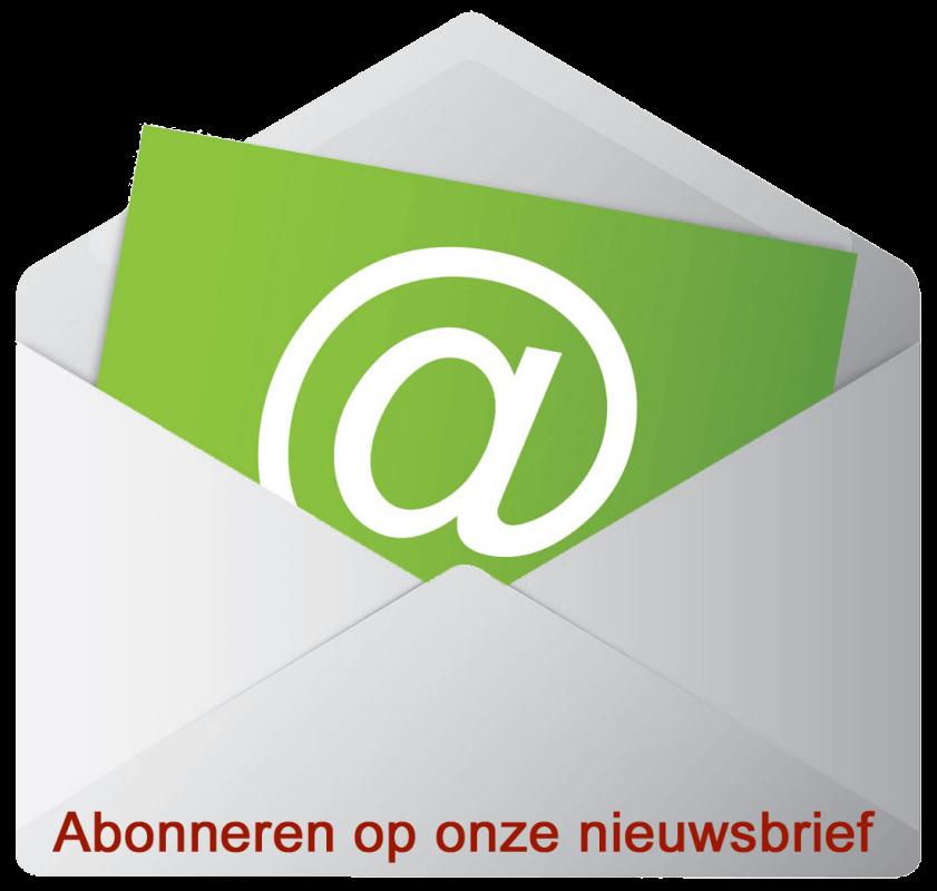 Nieuwsbrief button